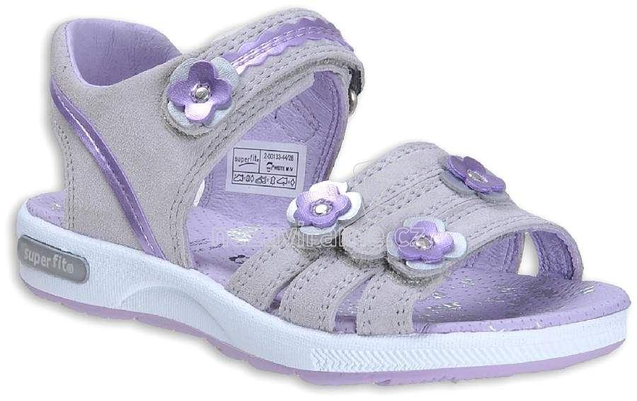 Dětské letní obuv Superfit 2-00133-44 d8bf8e7544