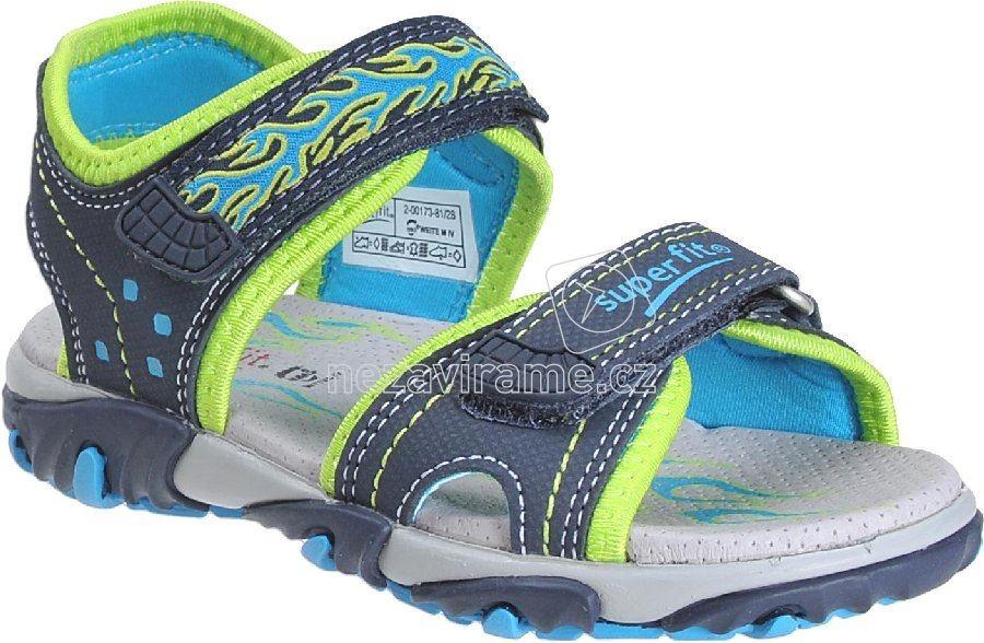 Dětské letní boty Superfit 2-00173-81 3cd365cda3