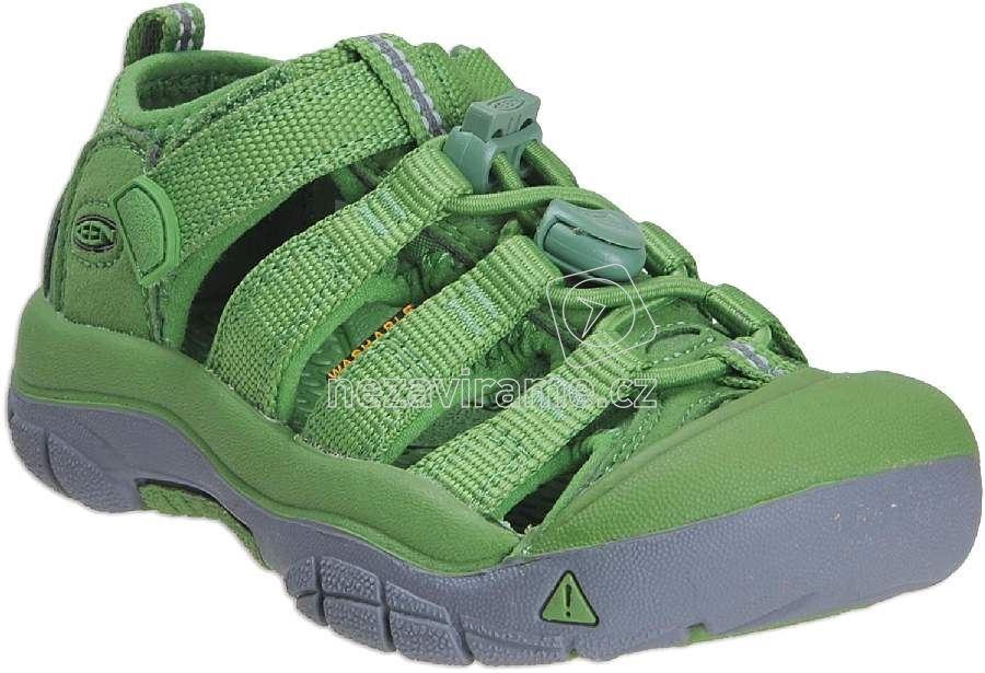 Dětské letní boty Keen Newport fluorite green