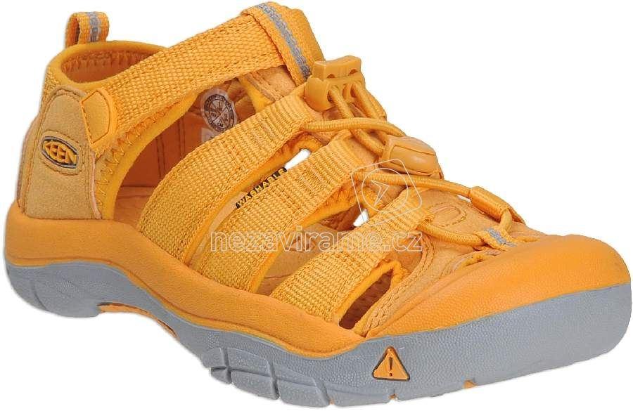 Detské letné topánky Keen Newport beeswax