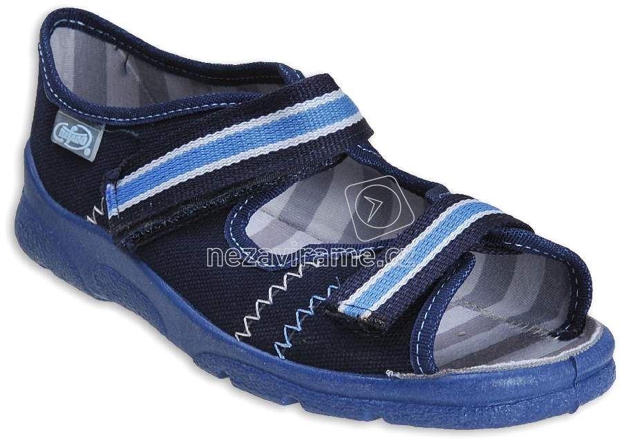 Detská domáca obuv Befado 969 Y101