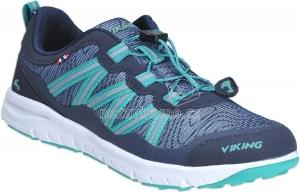 Detské celoročné topánky Viking 3-47670-504