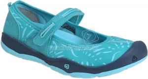 Detské letné topánky Keen Moxie dress blue/viridian 2018