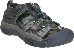 Detské letné topánky Keen Newport cascade brown kamo