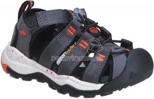 Dětské letní boty Keen Newport magnet spicy orange 654b4910f8