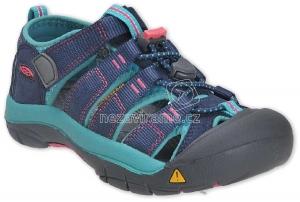 Detské letné topánky Keen Newport midnight navy/baltic