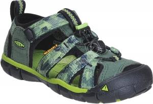 Dětské letní boty Keen Seacamp duck green greenery cd7e777b2d