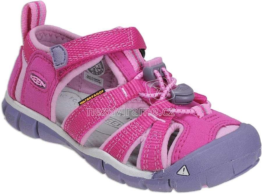 Dětské letní boty Keen Seacamp very berry lilac chiffon 8af3721085