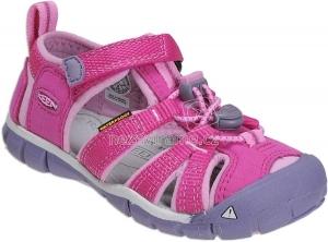 Detské letné topánky Keen Seacamp very berry/lilac chiffon