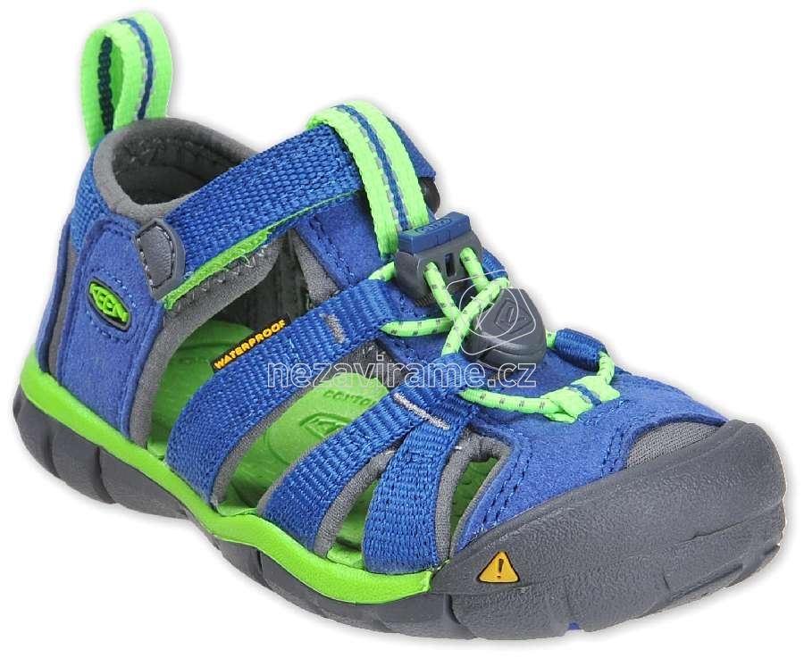 Detské letné topánky Keen Seacamp true blue/jasmine green