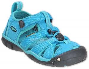 Detské letné topánky Keen Seacamp baltic/caribbean sea