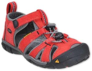 Detské letné topánky Keen Seacamp racing red/gargoyle