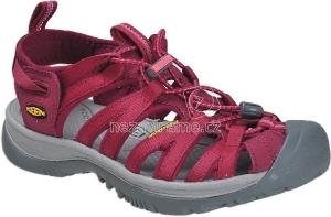 d385865935e Dámské letní boty Keen Whisper W beet red honeysuckle