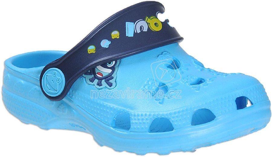 Detské plážovky Coqui 8701 blue/navy
