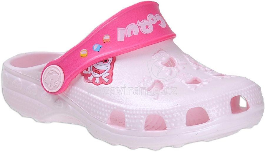 Detské plážovky Coqui 8701 pink/fuchsia