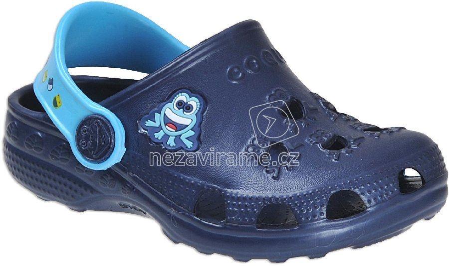 Strandpapucs Coqui 8701 navy/blue