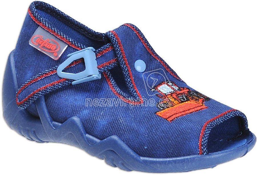 Detská domáca obuv Befado 217 P 091
