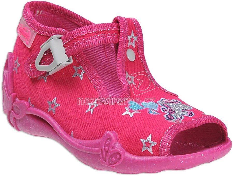 a7975abd97c Dětská domácí obuv Befado 213 P 102