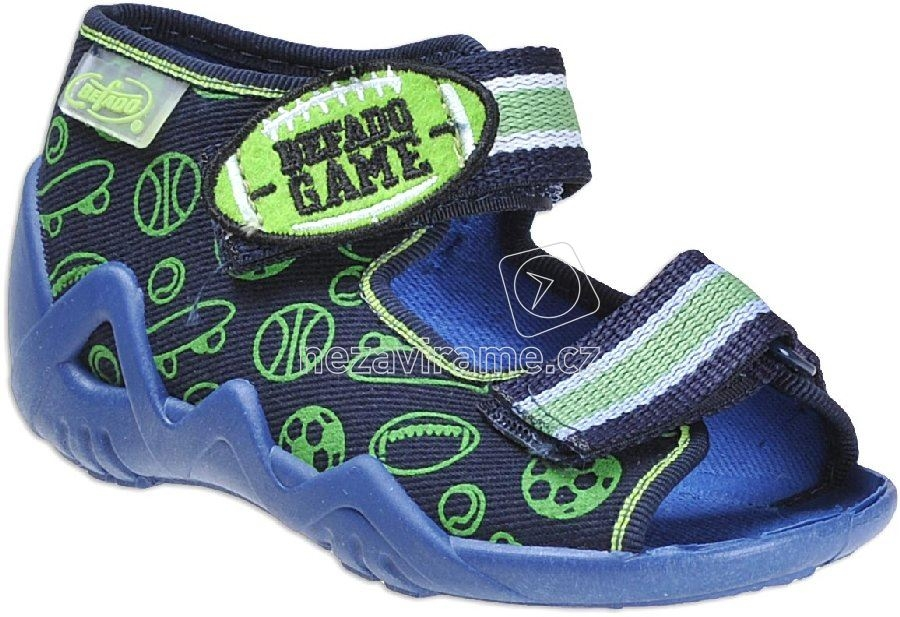 Detská domáca obuv Befado 250 P 070