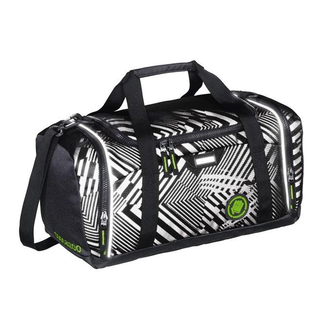 Sportovní taška SporterPorter, Black Track reflexní 139162