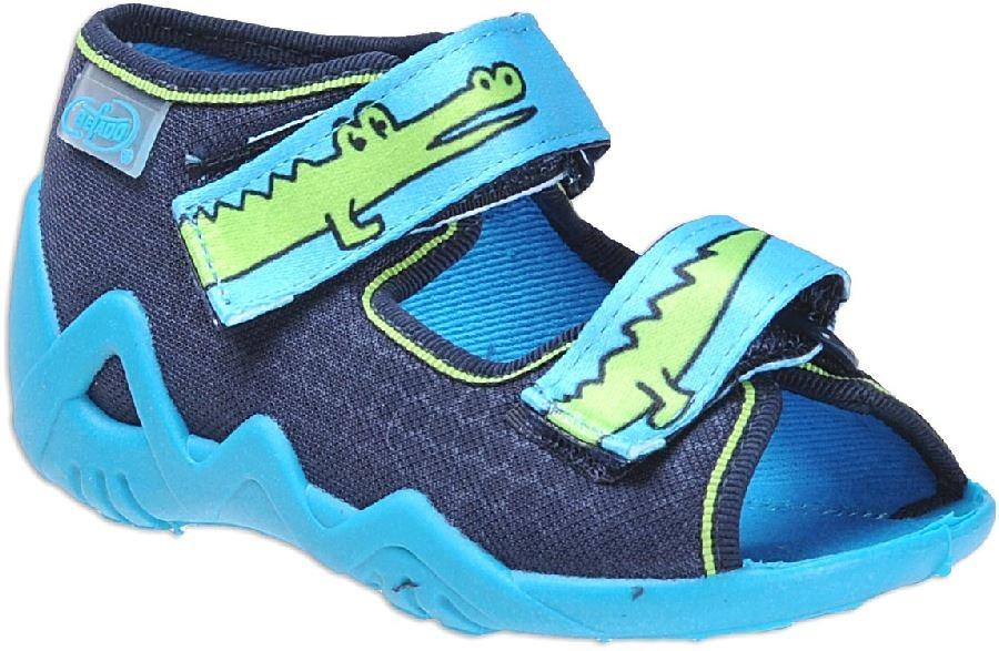 Dětská domácí obuv Befado 250 P 068