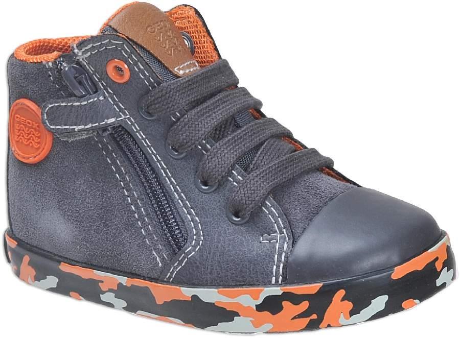 Dětské celoroční boty Geox B74A7B 022BC C1361