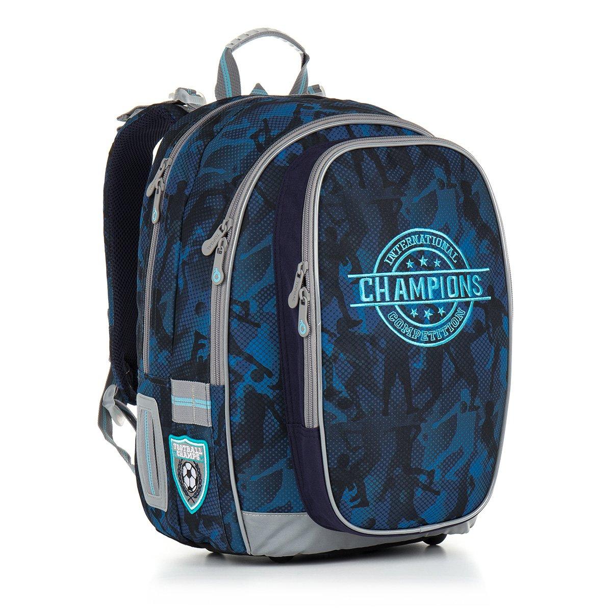 Školní batoh Topgal CHI 881 D - Blue aabb893256