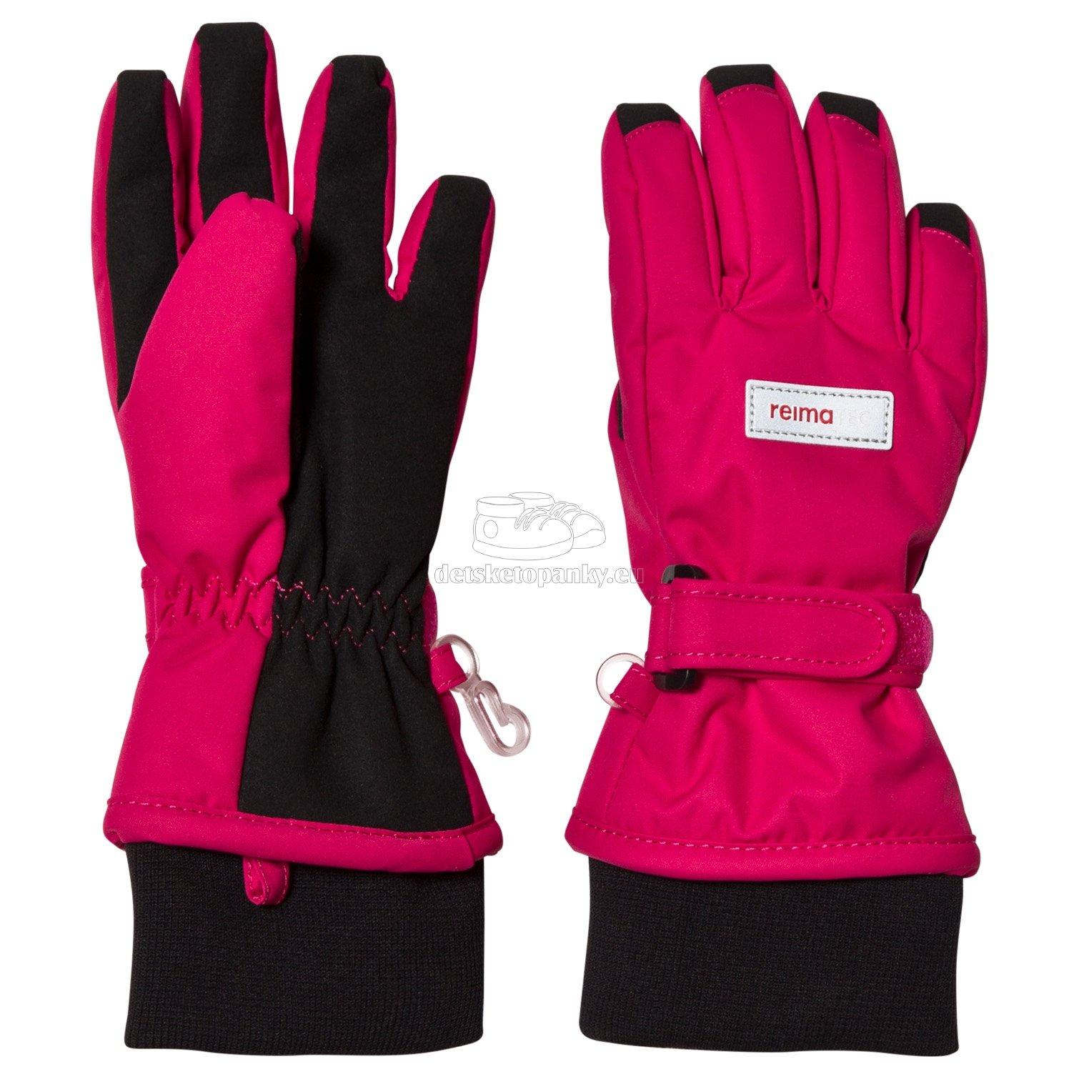 Dětské rukavice Reima 527289 Tartu cranberry pink