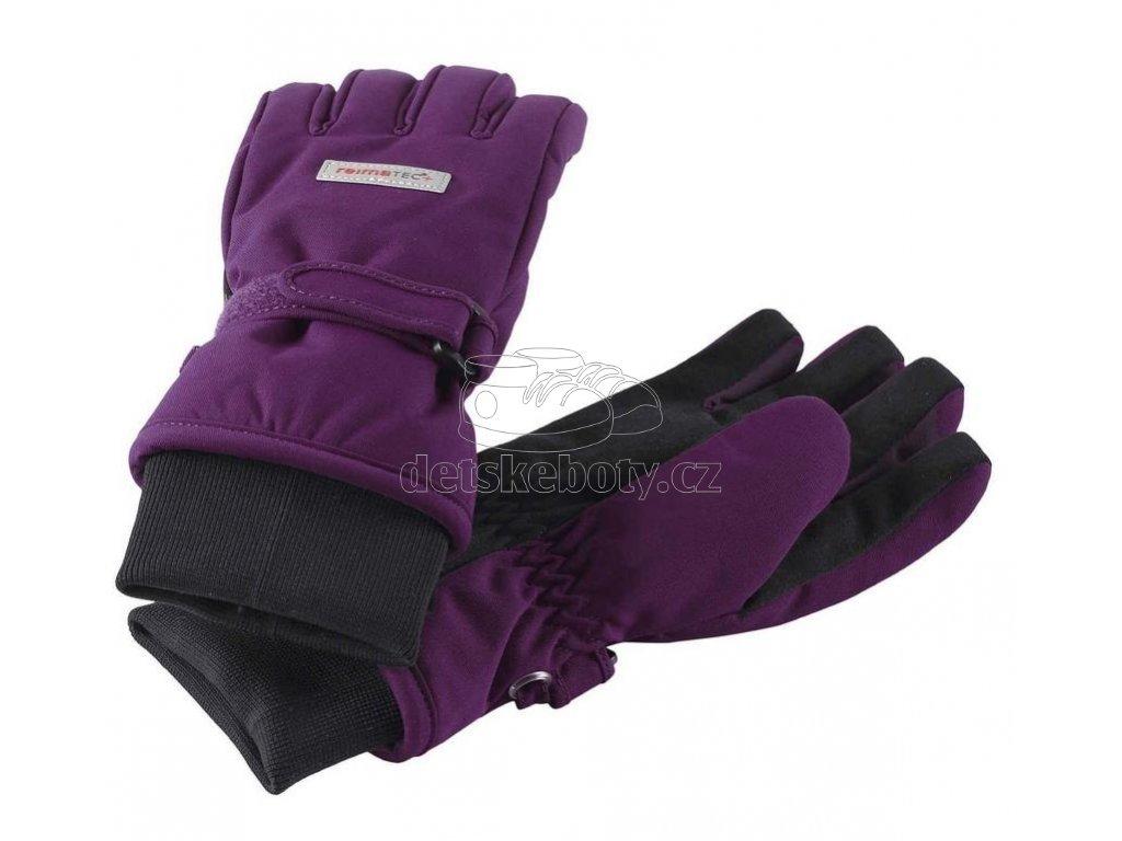 Dětské rukavice Reima 52728 Tartu deep purple