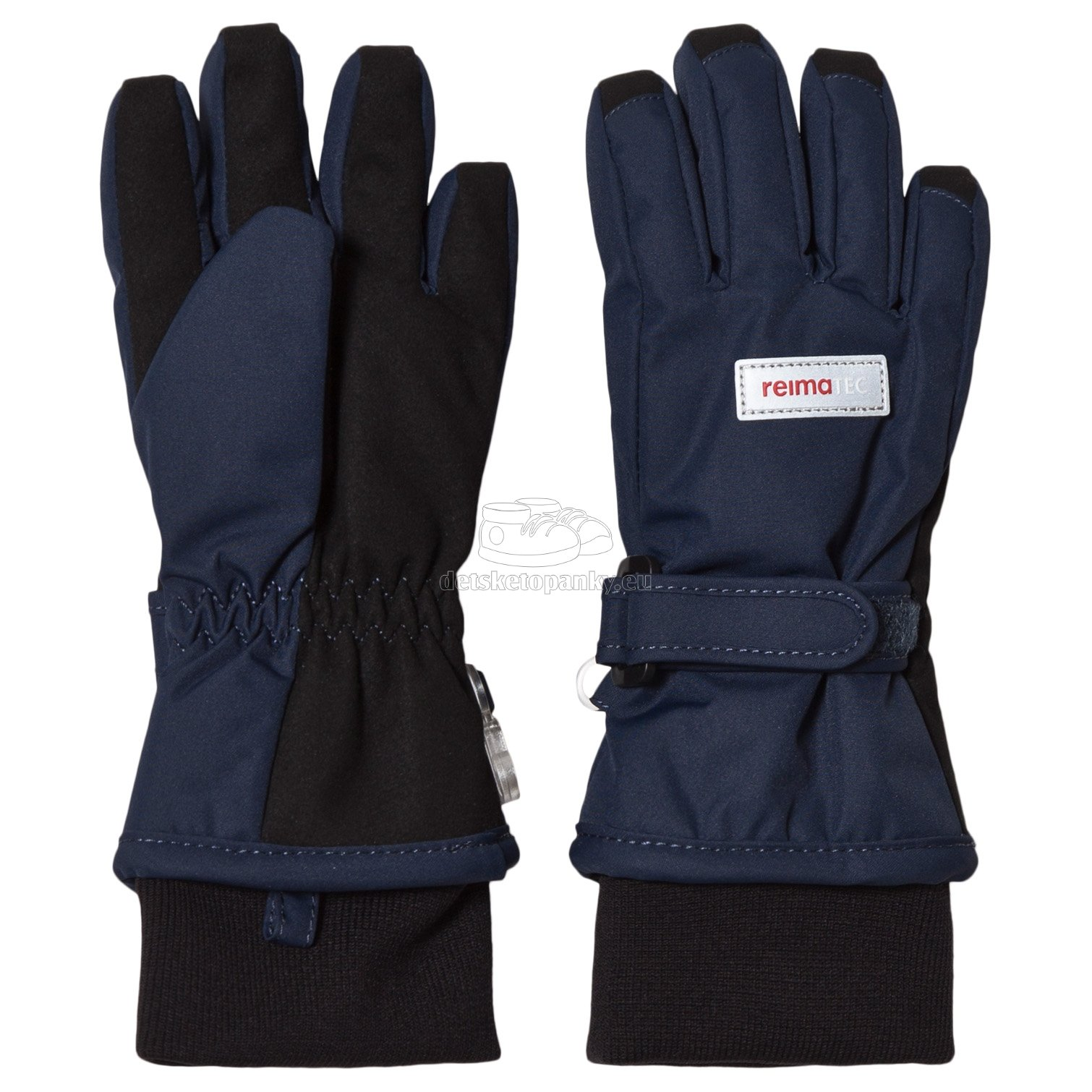 Detské rukavice Reima 527289 Tartu blue