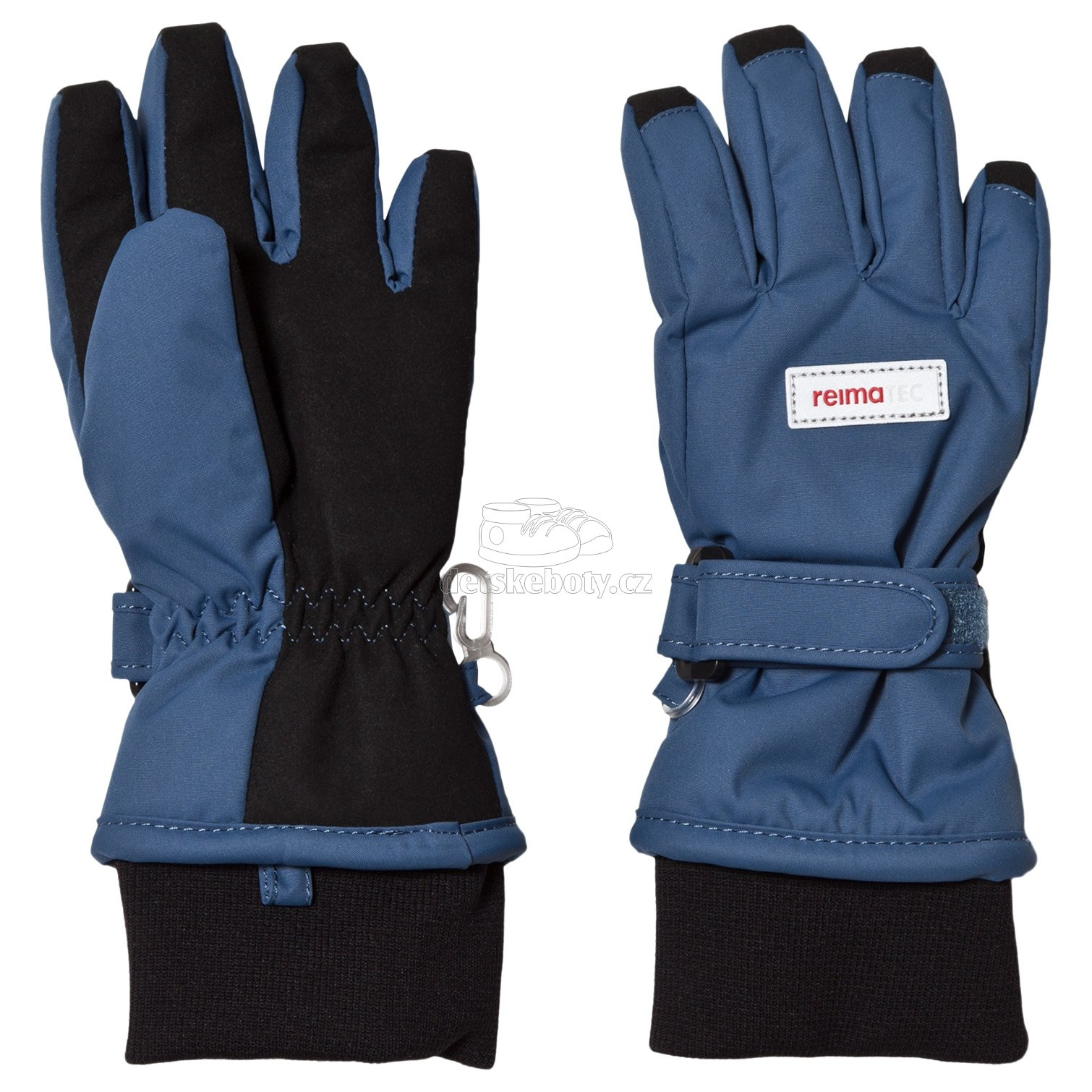 Dětské rukavice Reima 527289 Tartu denim blue