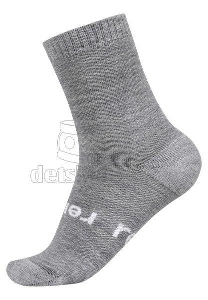Dětské ponožky Reima Warm Woolmix 527309 grey