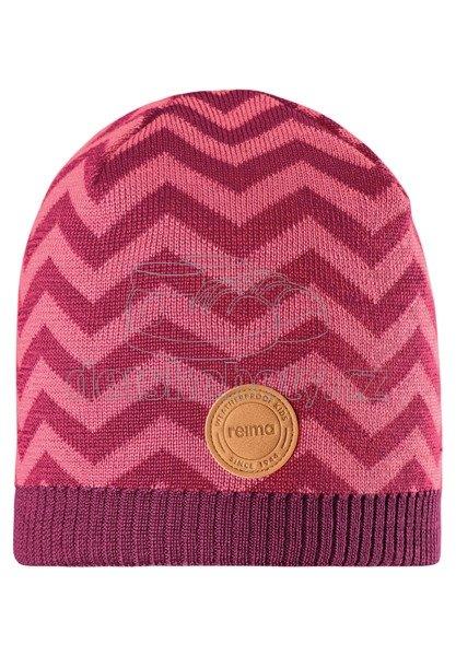 Dětská zimní čepice Reima Kolmio 528592 cranberry pink