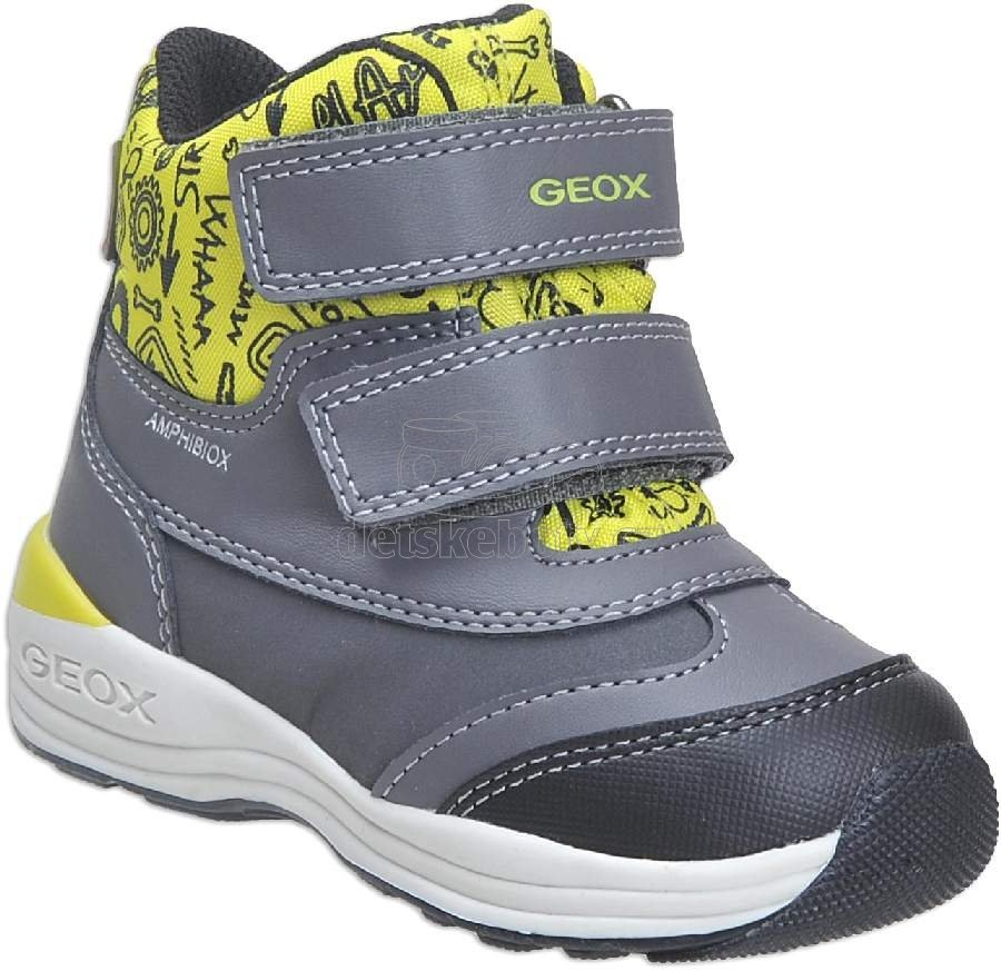 1963cd77e22 Dětské zimní boty Geox B841GB 054FU C1267