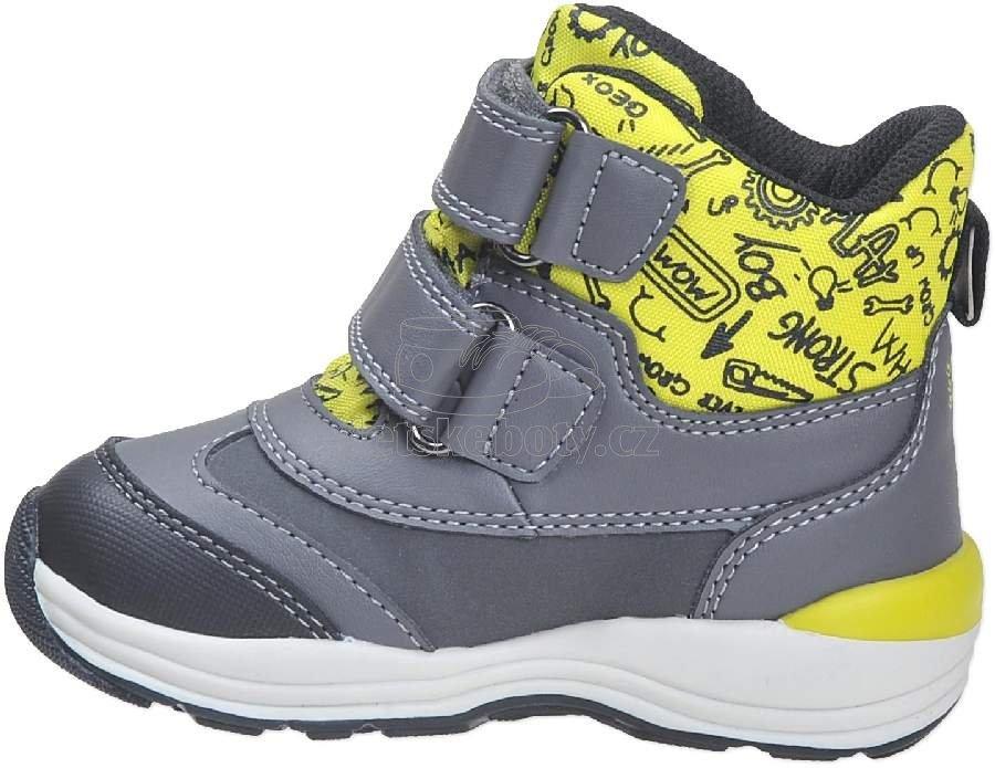 Dětské zimní boty Geox B841GB 054FU C1267  5cb152576a