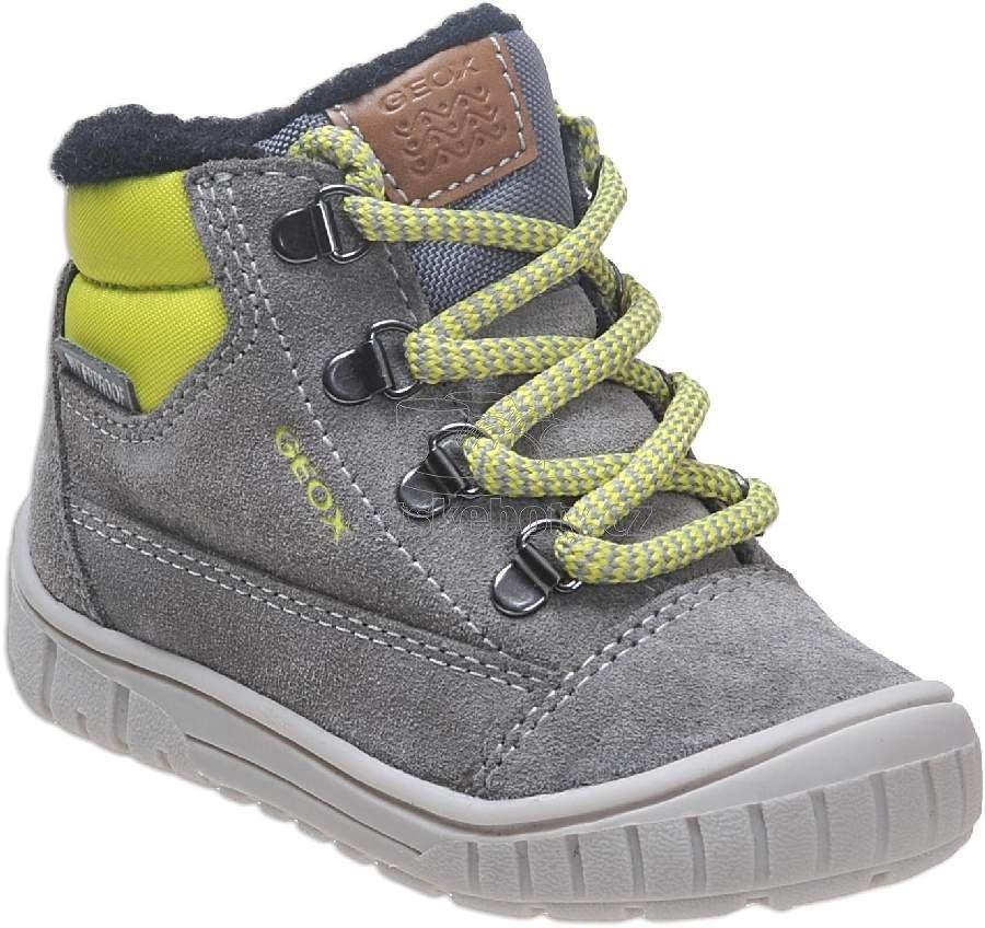 Detské zimné topánky Geox B842DA 022FU C1172