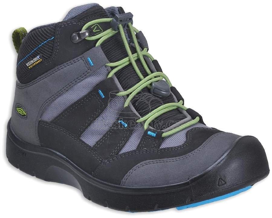 Detské celoročné topánky Keen Hikeport magnet/greenery