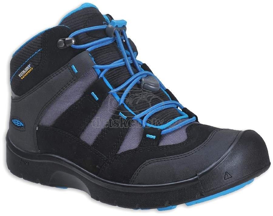 Detské celoročné topánky Keen Hikeport black/blue jewel