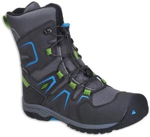 Detské zimné topánky Keen Levo magnet/blue jewel