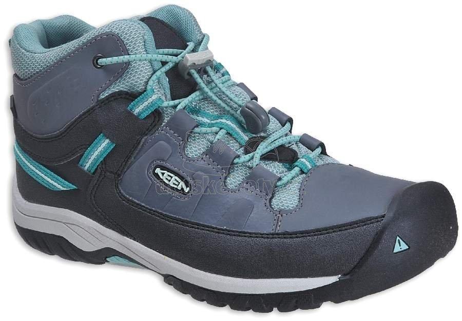 Turistické topánky Keen Targhee steel grey/wasabi