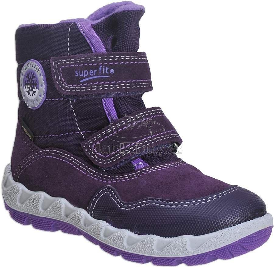 Dětské zimní boty Superfit 3-00013-90 8d657f31bf