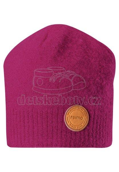 Dětská čepice Reima 528612 Kaamos cranberry pink