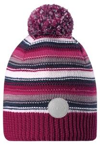Dětská čepice Reima Hurmos 528608 heather pink
