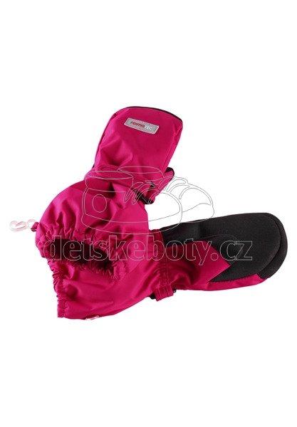 Dětské rukavice Reima 527288 Ote cranberry pink