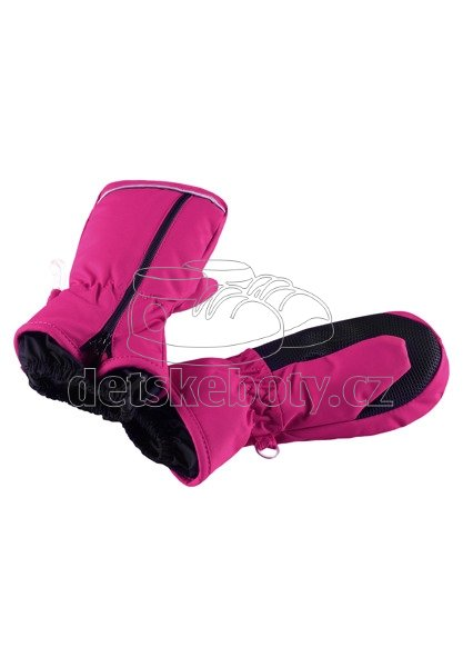 Dětské rukavice Reima Tepas 517160 cranberry pink