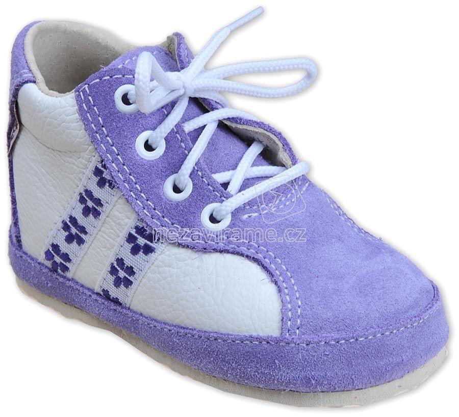 Detské capáčky Pegres 1093 fialová