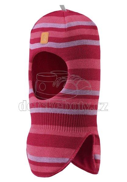 Dětská zimní čepice Reima Simo 518471-3601 cranberry pink