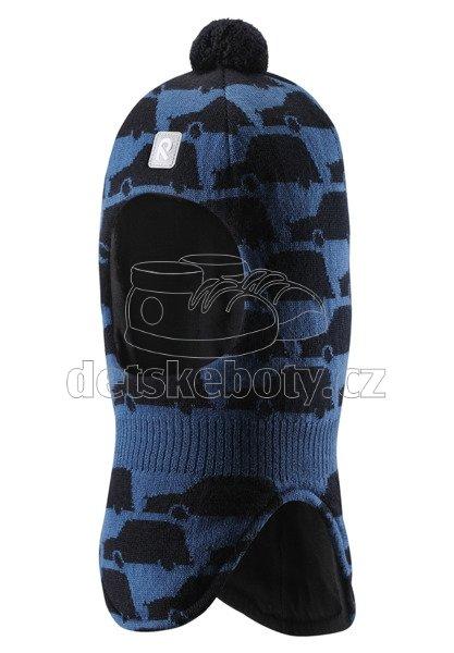 Dětská zimní čepice Reima Aukea 518483-6791 denim blue