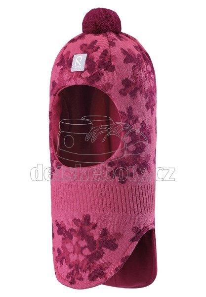 Dětská zimní čepice Reima Anda 518482-4591 rose