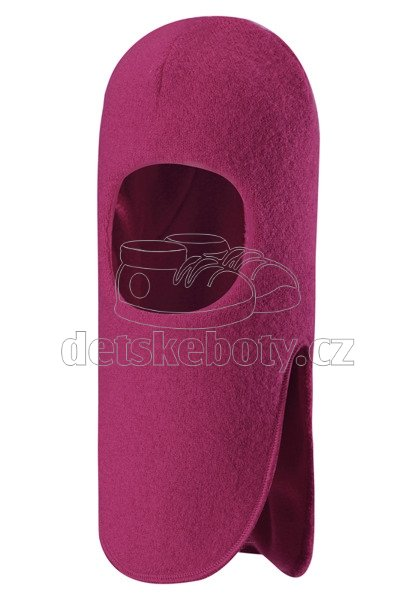 Dětská zimní čepice Reima Kolo 518469-3600 cranberry pink
